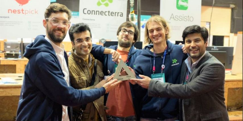 Connecterra, after winning the alpha pitch competition.