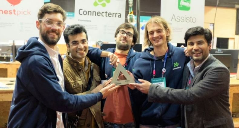 connecterra wins startup of the year web summit 2015
